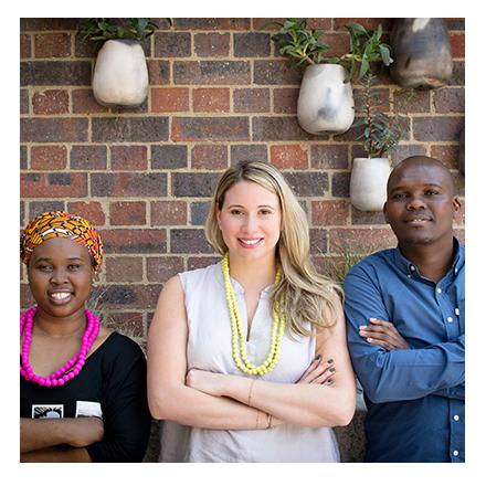 Courtneigh Cloud Bernstein, Lucky Previe Msimanga & Ntando Dlamini